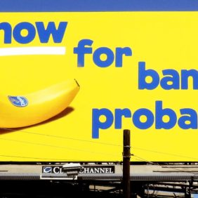 "L'affissione ""We Are Bananas"" premiata dai The Drum® Awards"