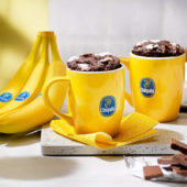Fudge in tazza alla banana Chiquita e marshmallow, pronto in soli 5 minuti