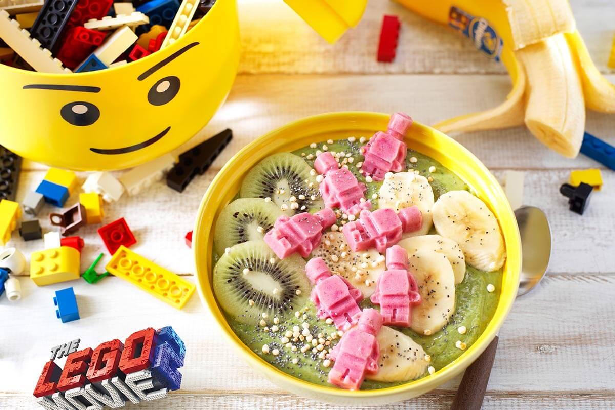 Frullato in ciotola Banarnar a base di matcha e banana Chiquita