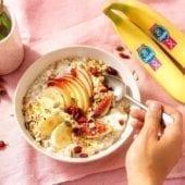 Crema Budwig con banana Chiquita
