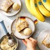 Strudel tedesco alla banana Chiquita con mandorle
