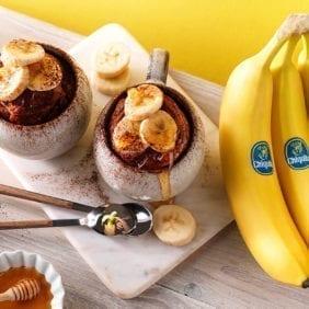 Muffin in tazza alla banana Chiquita