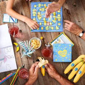 Chiquita stravede per i preziosi momenti in famiglia