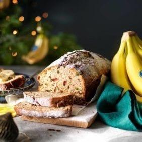 Pane natalizio alla banana Chiquita