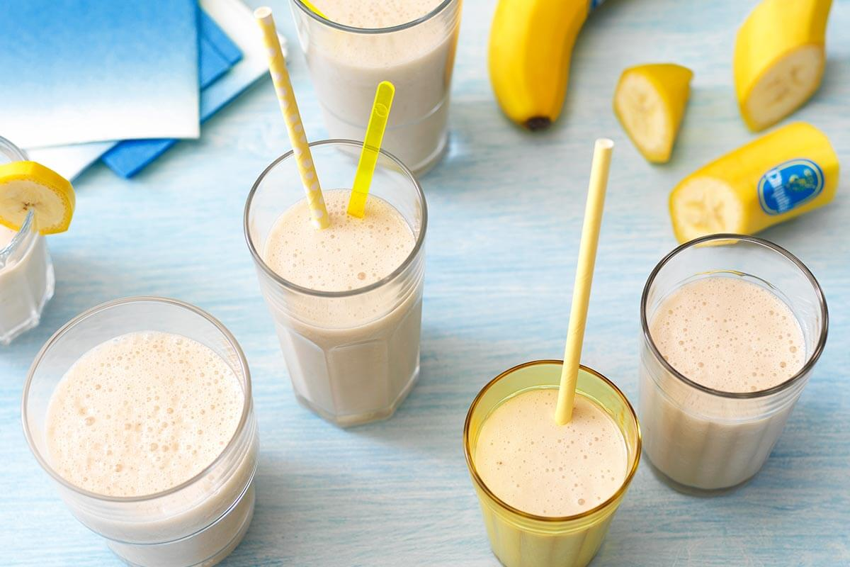 Frullato alla banana di facile preparazione