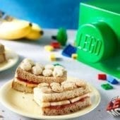"""Sano e dolce """"sandwich Banarnar"""" con banana Chiquita"""