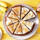 Torta sana alla carota e banane Chiquita