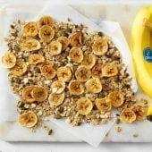 Chip di banana Chiquita fatte in casa