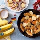 Kaiserschmarrn con banana Chiquita e frutti rossi
