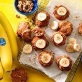 Biscotti con avanzi di pane alla banana Chiquita vegano