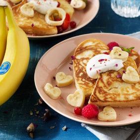 Tre ricette a base di banana Chiquita per San Valentino