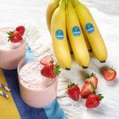 Smoothie veloce alle fragole e banane Chiquita