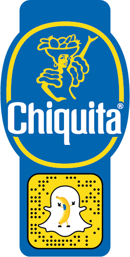 Snapchat Chiquita stickers