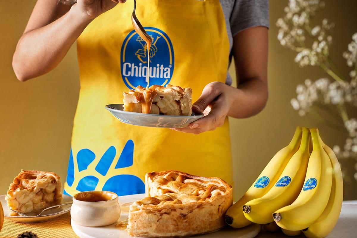 Crostata alla banana Chiquita al caramello
