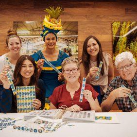 Chiquita incontra la più grande collezionista di etichette di banane