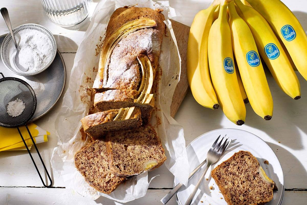 Il miglior banana bread con banane Chiquita