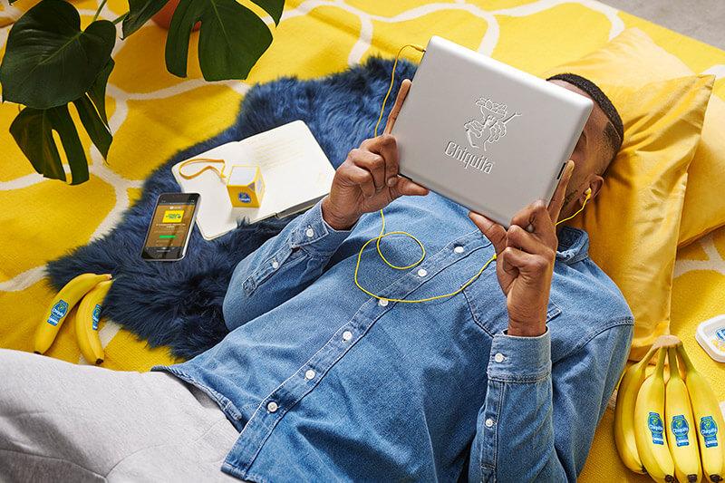 Le nuove playlist di Chiquita su Spotify,