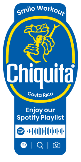 Spotify_Workout_Chiquita_Sticker