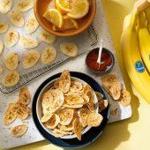 Salutari chips di banane Chiquita al forno