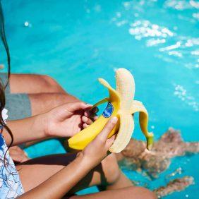 Le banane Chiquita sono lo spuntino perfetto per le vacanze estive