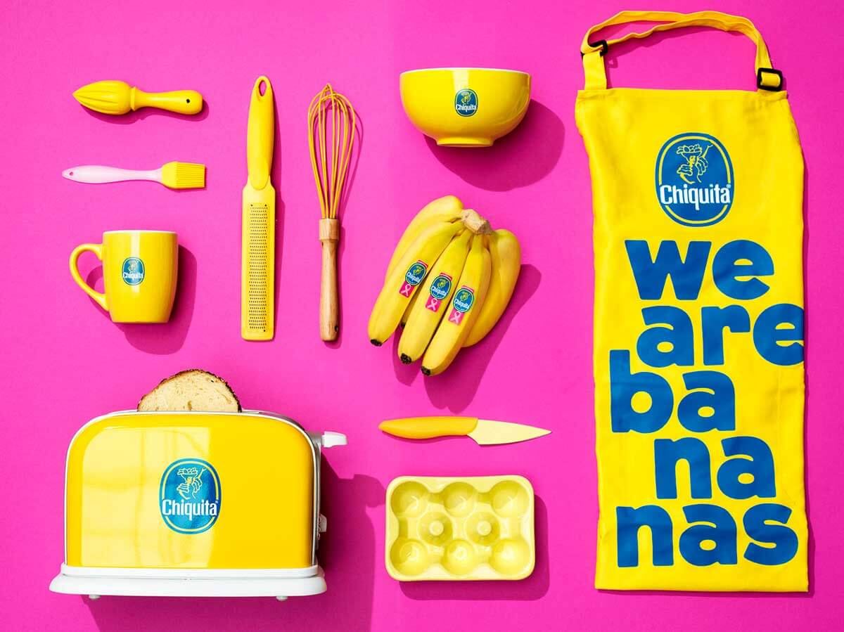Chiquita Pink Sticker cooking model