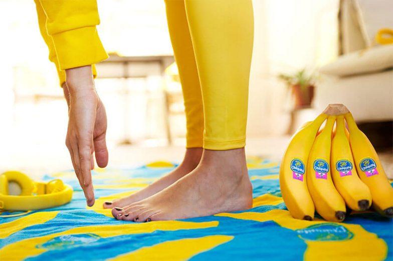 Bollini Fitness Chiquita per il riscaldamento