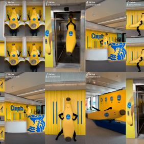 Unisciti alla #ChiquitaChallenge con l'incredibile Bananaman