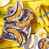Banane Chiquita caramellate alla griglia
