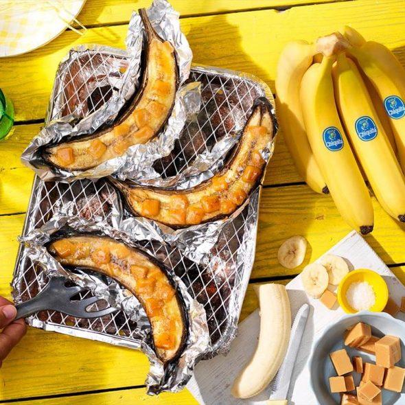 La passione di Chiquita per le banane alla griglia in quattro nuove fantastiche ricette estive