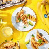 Banane Chiquita alla griglia con cannella