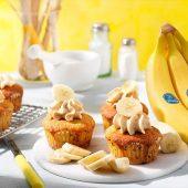 Cupcake al burro d'arachidi e banana Chiquita