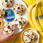 Torta vintage alla crema di cioccolato e banana Chiquita