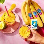 Frullato di pera e banana Chiquita con curcuma