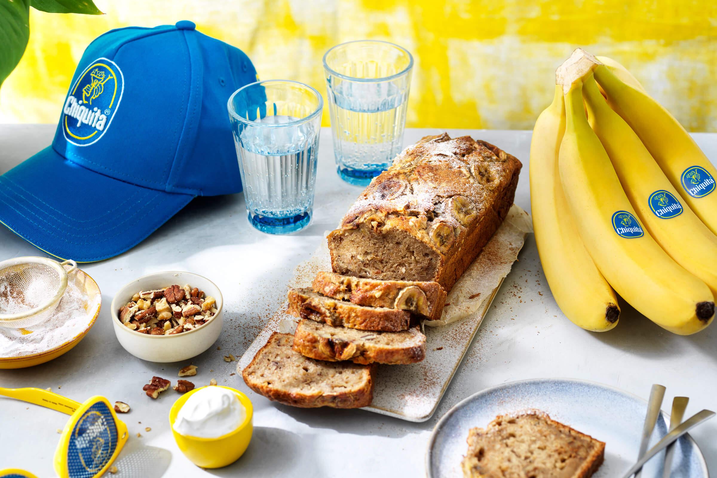 Banana bread con avanzi di banana Chiquita facile da preparare