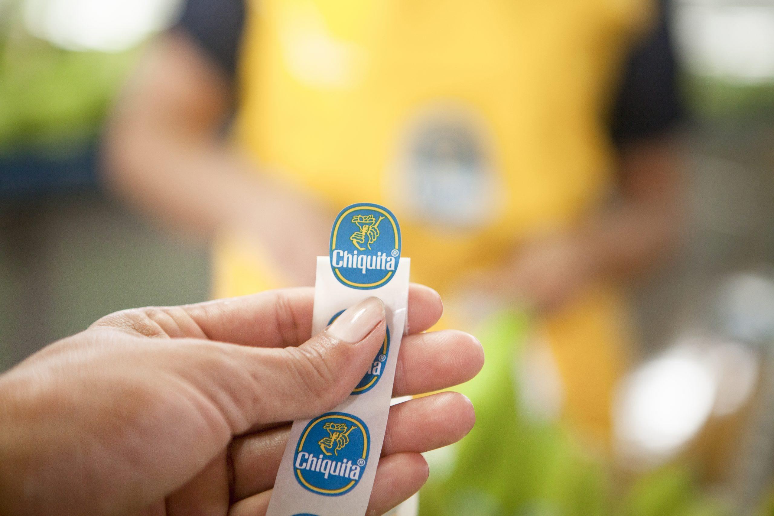 bollini blu Chiquita logo
