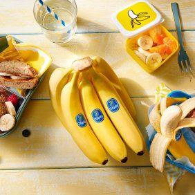 Cerchi degli spuntini salutari per bambini? Ce li hai sotto gli occhi: le banane Chiquita!