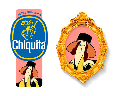 Chiquita-Artist-Sticker_Amedeo-modigliani