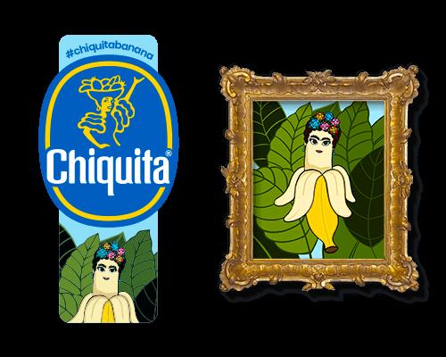 Chiquita-Artist-Sticker_Frida_Khalo