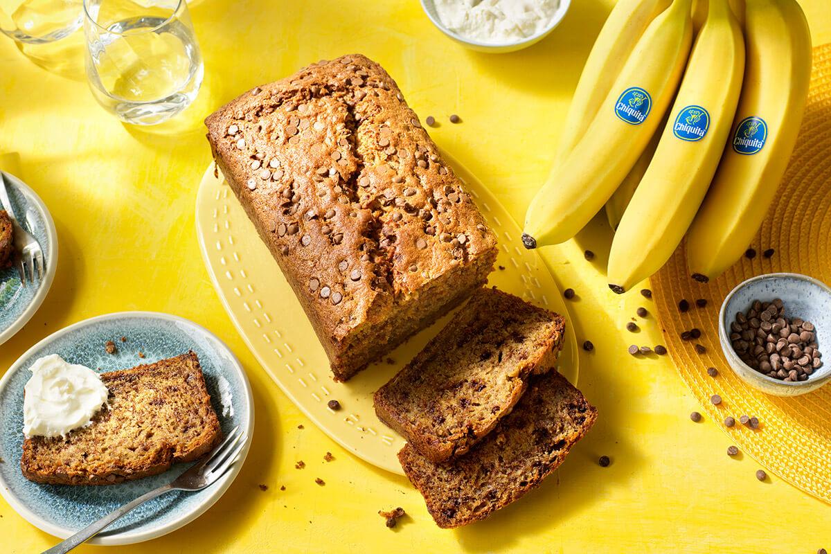 Banana Bread con Gocce di Cioccolato di Chiquita
