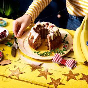 Soffice Banana Bread di Chiquita per Natale