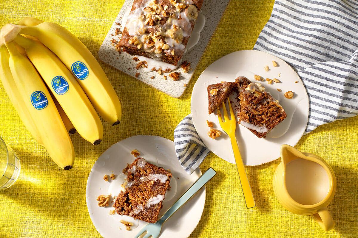 Banana bread senza uova di Chiquita