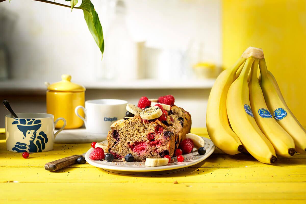 Banana bread senza glutine di Chiquita