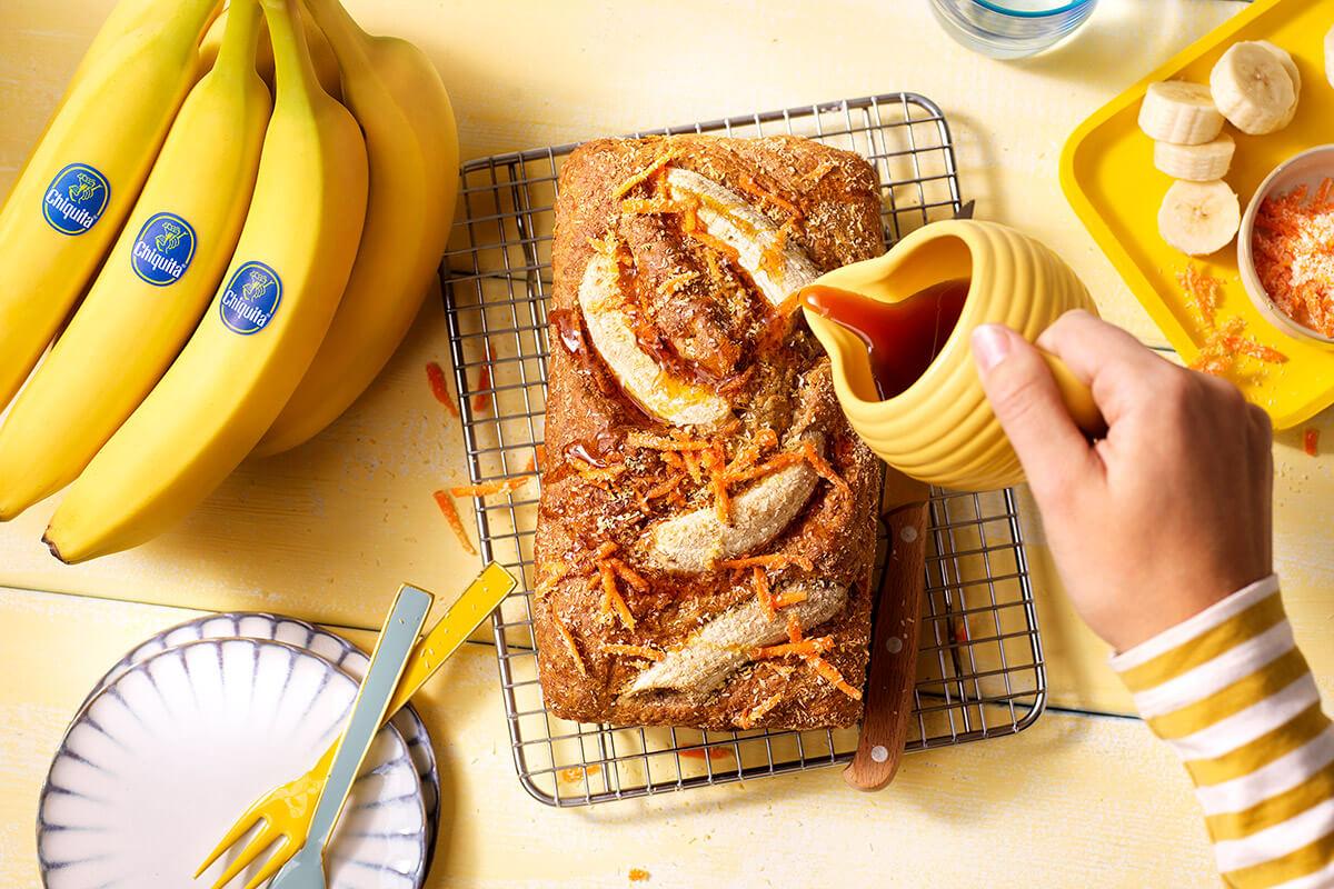 Banana Bread Vegano di Chiquita