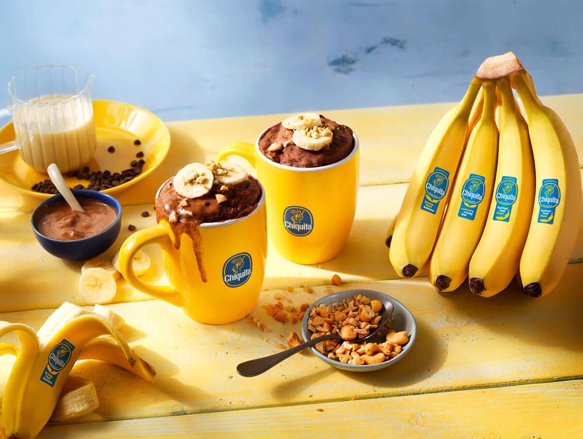 La migliore torta in tazza al cioccolato con banane Chiquita