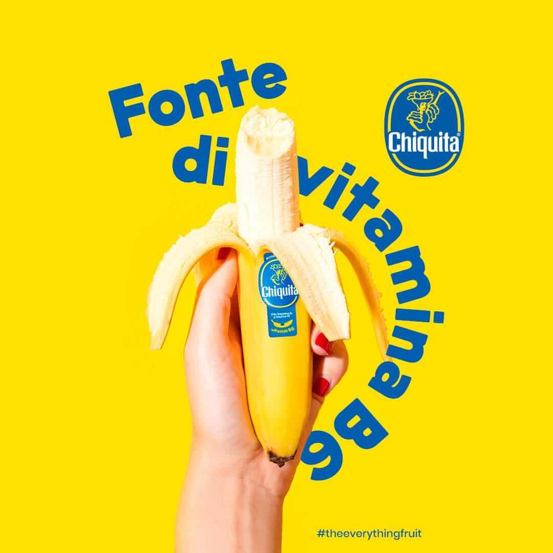 Fonte di vitamina B6 Chiquita