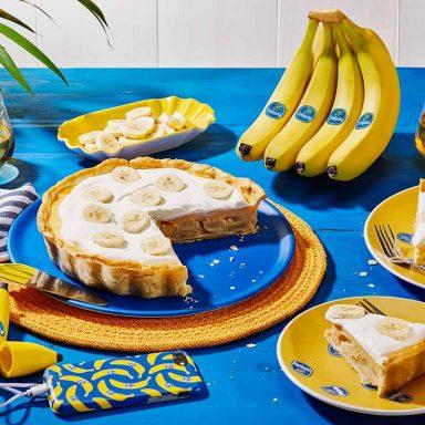 Torta alla crema di banane Chiquita