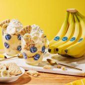 Budino in tazza alla banana Chiquita