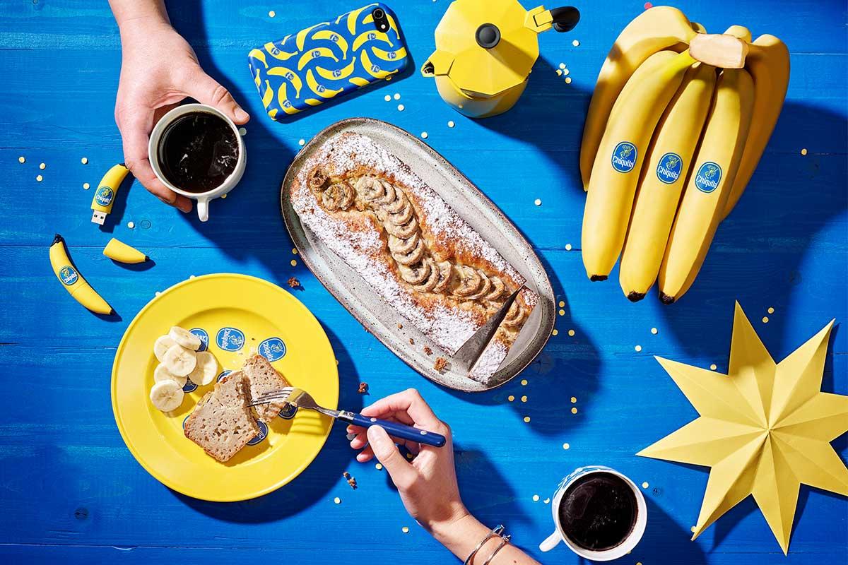 Banana Bread con banane Chiquita semplice e veloce