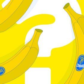 La migliore banana? È del marchio Chiquita. Ecco perché