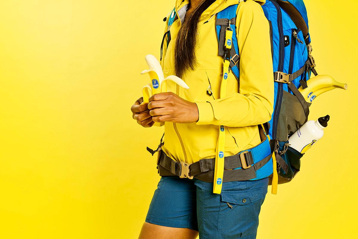 I benefici delle banane per l'escursionismo